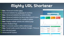 Mighty URL Shortener - Short URL Script