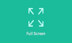 OceanWP - Full Screen